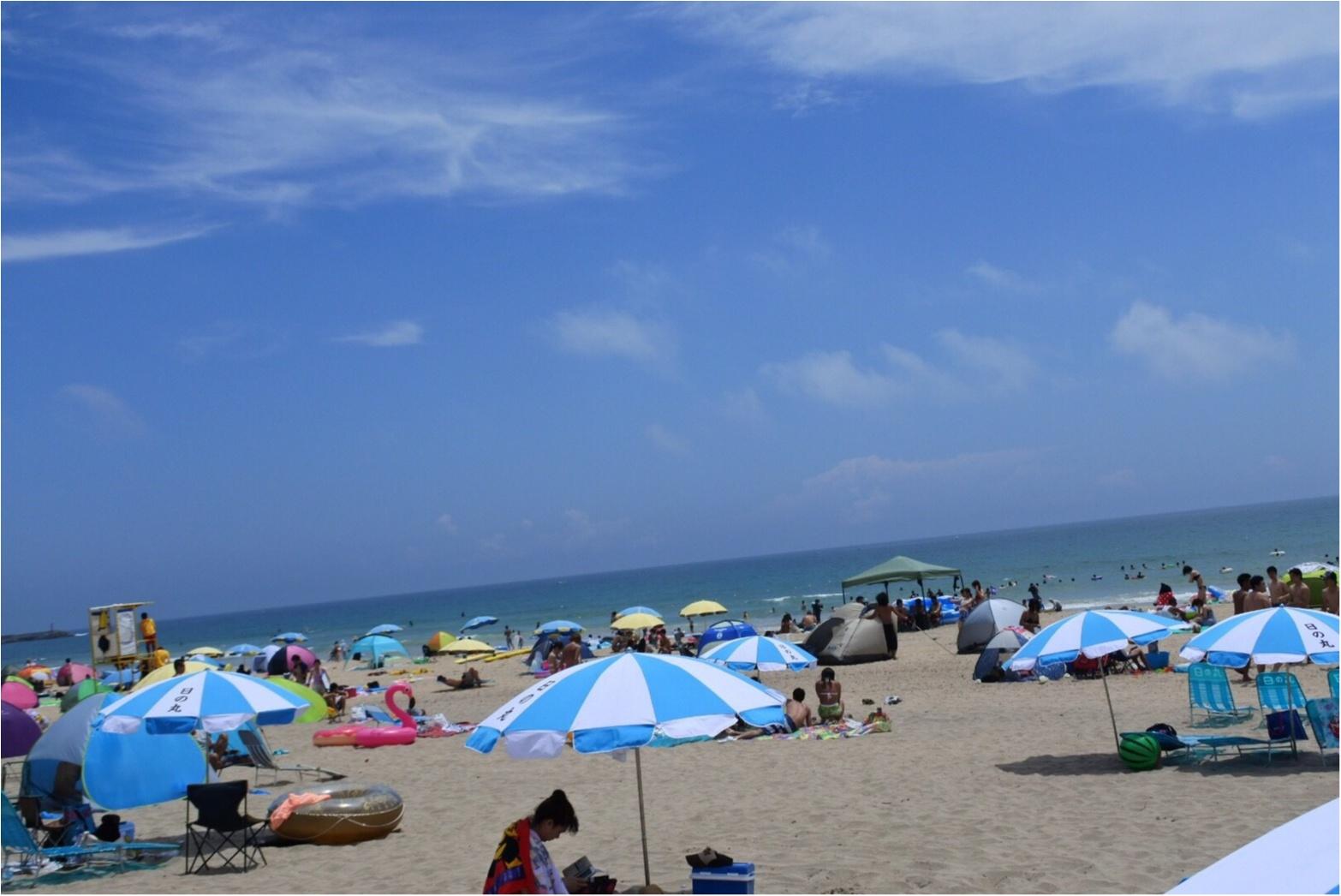 暑い陽射しの海も○○○があれば快適✨あの童謡で有名な【*御宿海岸*】で夏を満喫してきました♪_4