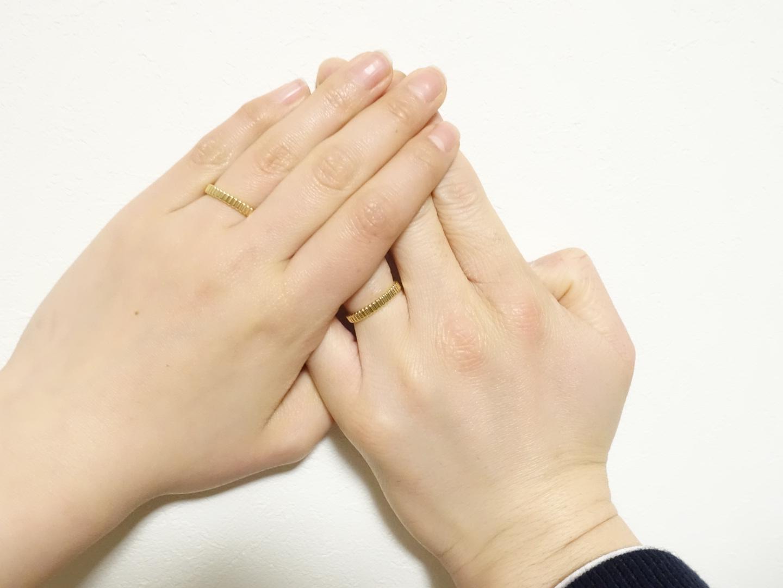 《プレ花嫁の結婚式準備》結婚指輪をGETしました!_2