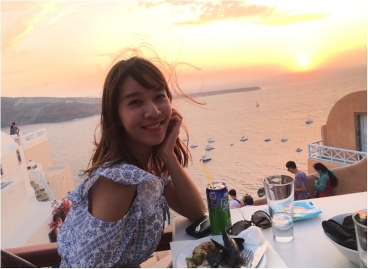 青と白の世界♡憧れのサントリーニ島へ♡_7