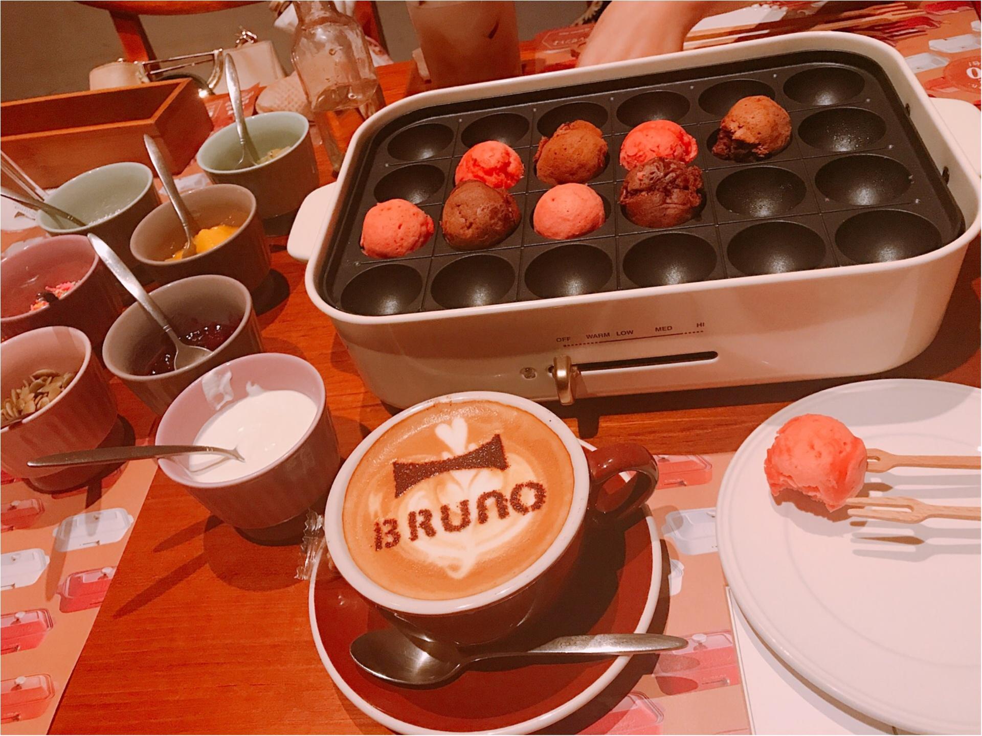 4日限定!コンパクトホットプレートでおもてなし【BRUNO CAFE】がオープン★_10