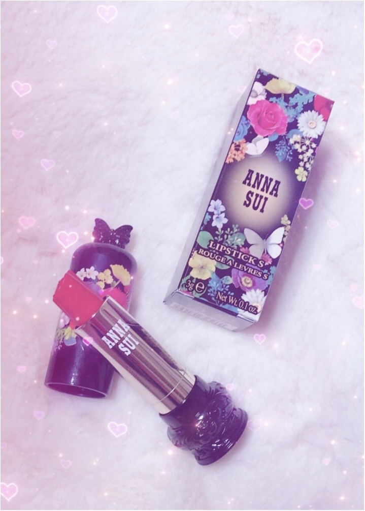 【2018年春コスメ】絶対買いたい!「ANNA SUI(アナ スイ)」の新作リップがバラ型で可愛いすぎる♡♡_2_1