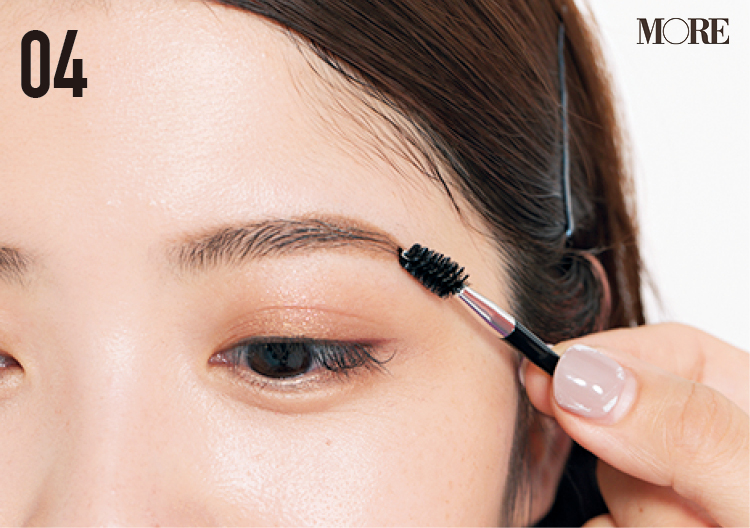 眉の形が定まらない人の原因は「眉山」! 眉山の見つけ方、自然な毛流れを作るコツetc. 正しい描き方、教えます_7