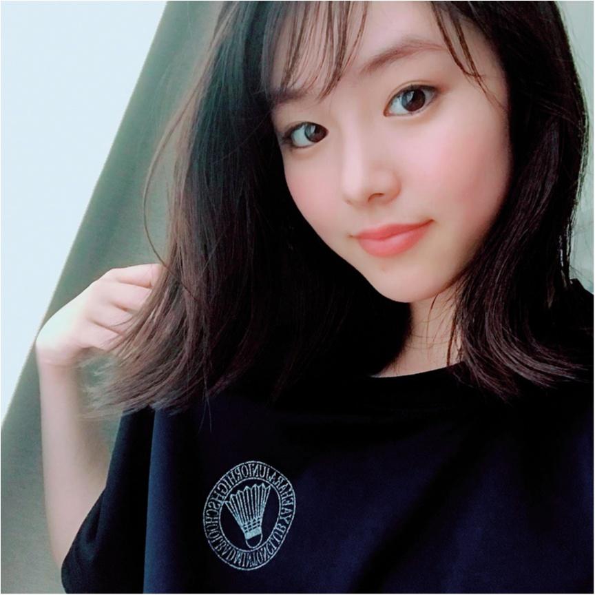 【お気に入りの部屋着を見せて!】唐田えりかちゃんは、中学時代の部活Tシャツ!_1