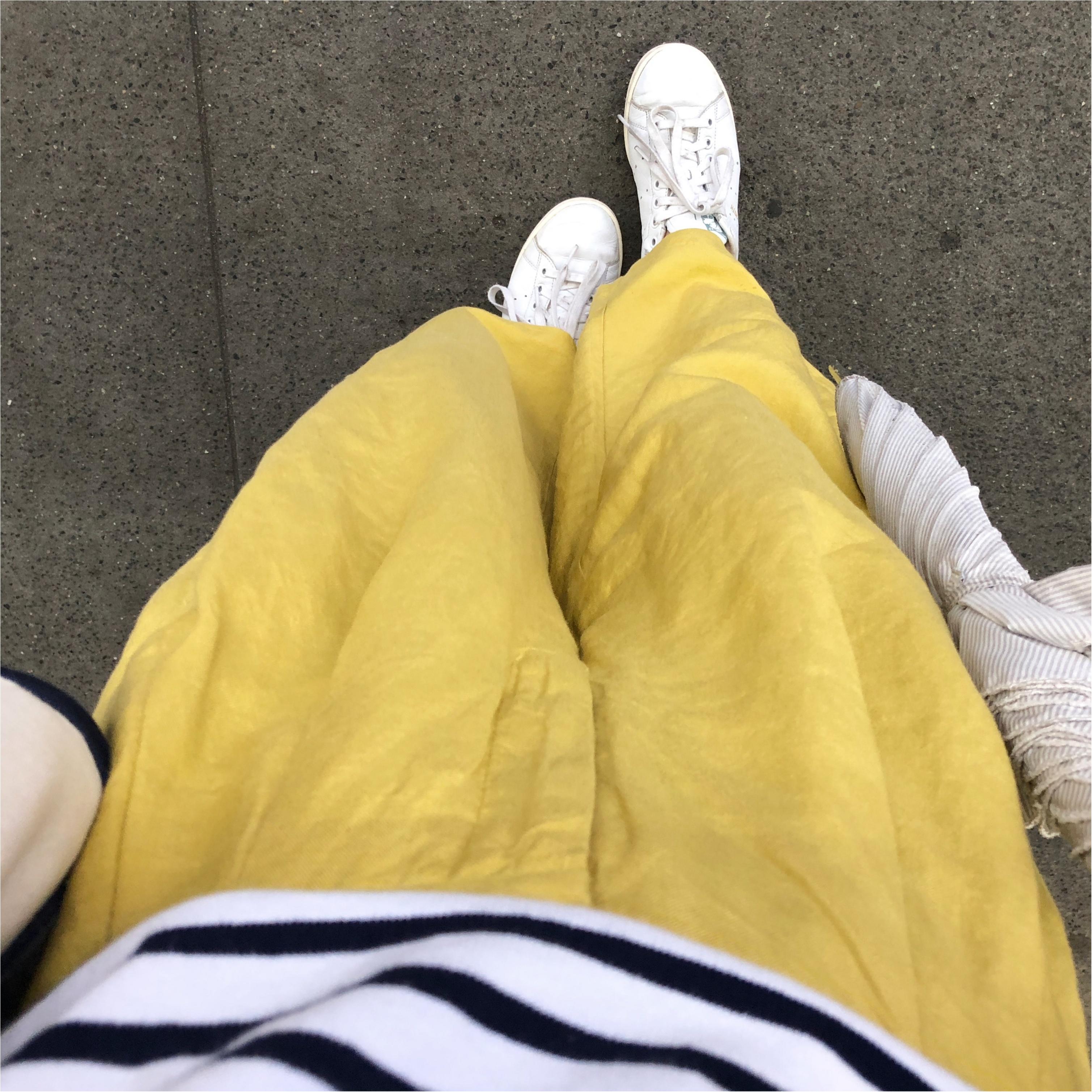 【GU】リネンブレンドワイドパンツが期間限定でお買い得に!夏に涼しくはけちゃう爽やかパンツがおすすめ!_3
