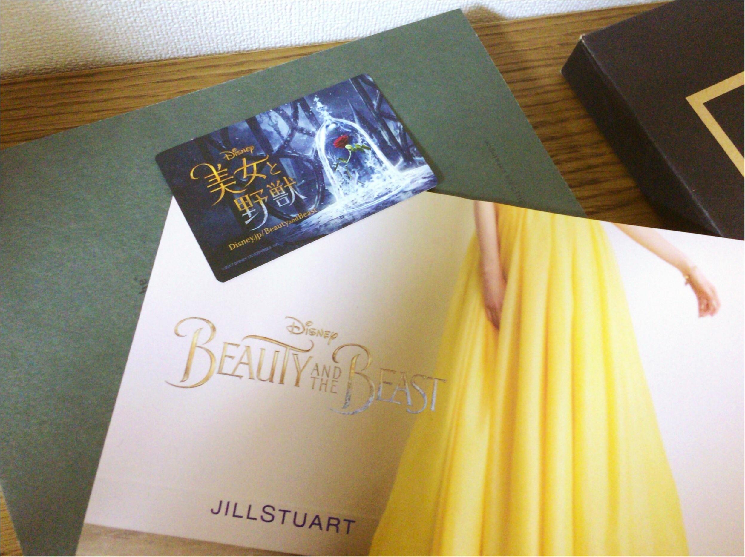 《ムビチケ》『美女と野獣』実写版をバラが美しい便利な前売り券で観賞♡♡♡_5