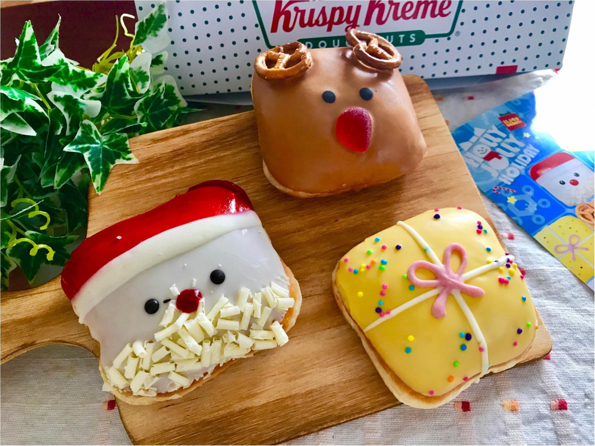 【クリスピークリームドーナツ】クリスマス限定ドーナツが可愛すぎると絶賛の嵐♡_2