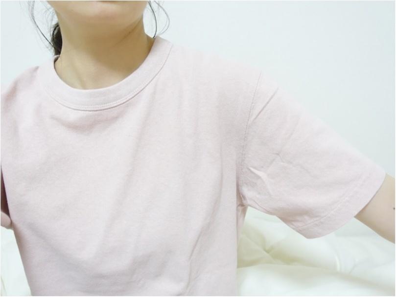 コレクション化しつつある【UniqloU】のシンプルTシャツ。ヘビロテしているカラーはこれ♡_1