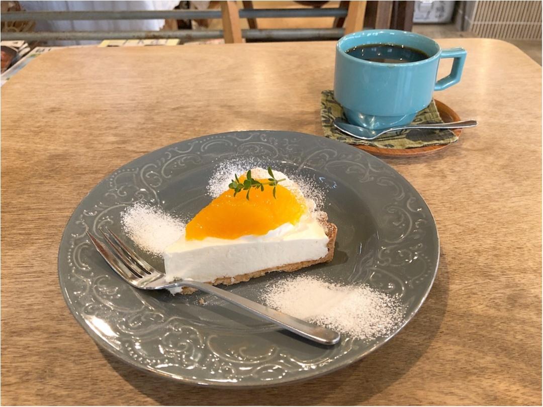広島で行きたいカフェ♡ 美味しい洋菓子とかわいい雑貨のお店 《 ケツァール 》さんの爽やかオレンジタルト♡♡_7
