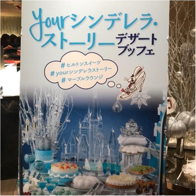 【インスタ映え抜群◎】ヒルトン東京の《シンデレラブッフェ》へ行ってきました♪_1