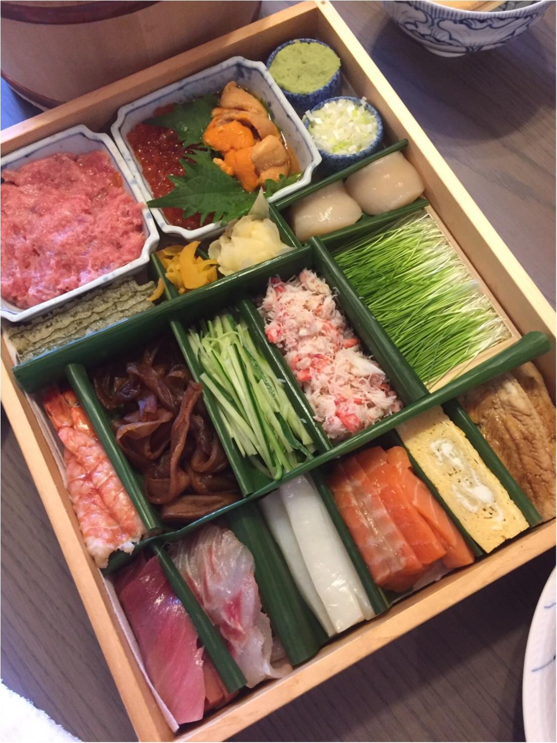 絶品お寿司のホームパーティー★_1