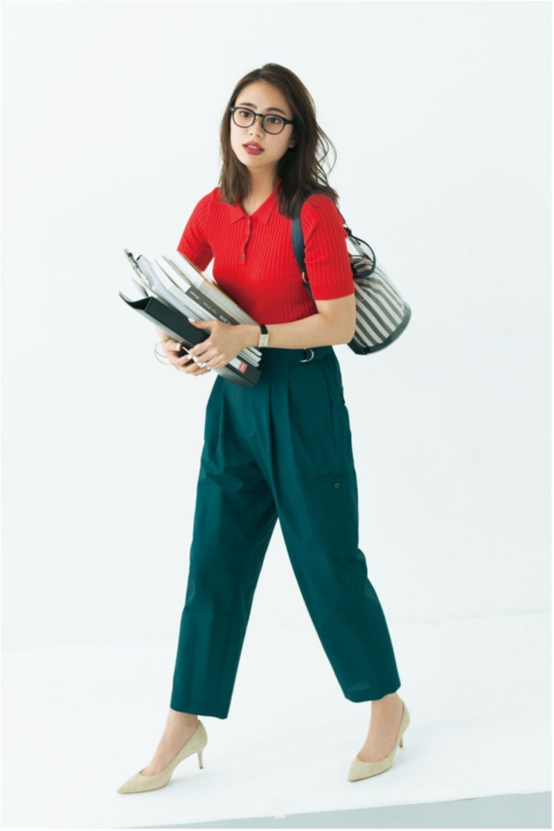 オフィスカジュアル,ファッション,2018, 夏,コーデ,通勤コーデ