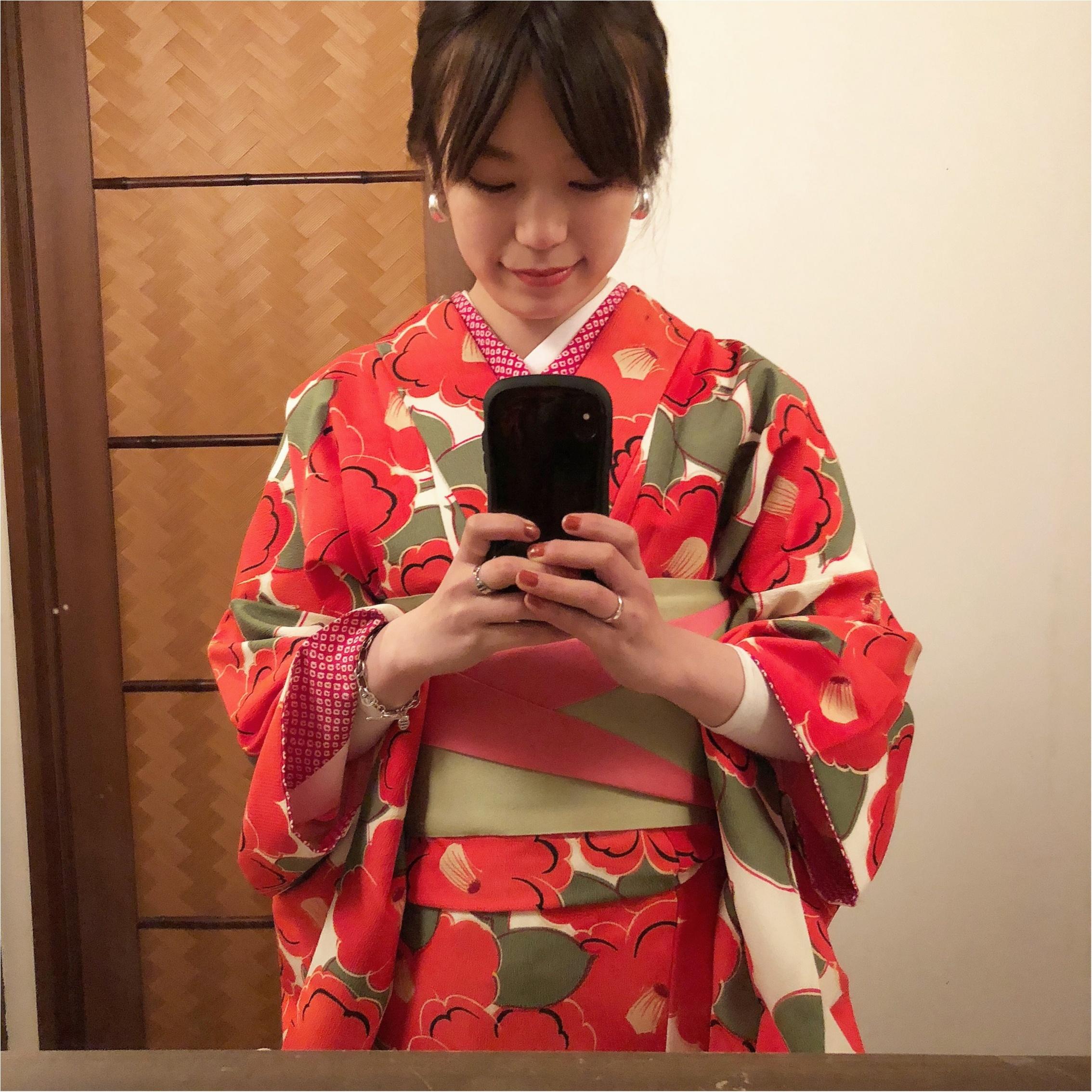 京都に行ったら〈着物〉が着たい!ということで、着物で向かった先は、、??_1