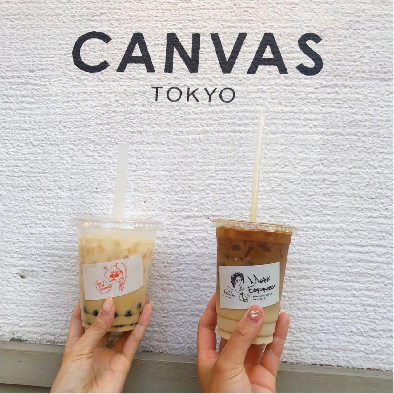 【CANVAS  TOKYO】広尾のおしゃれカフェ♡_5