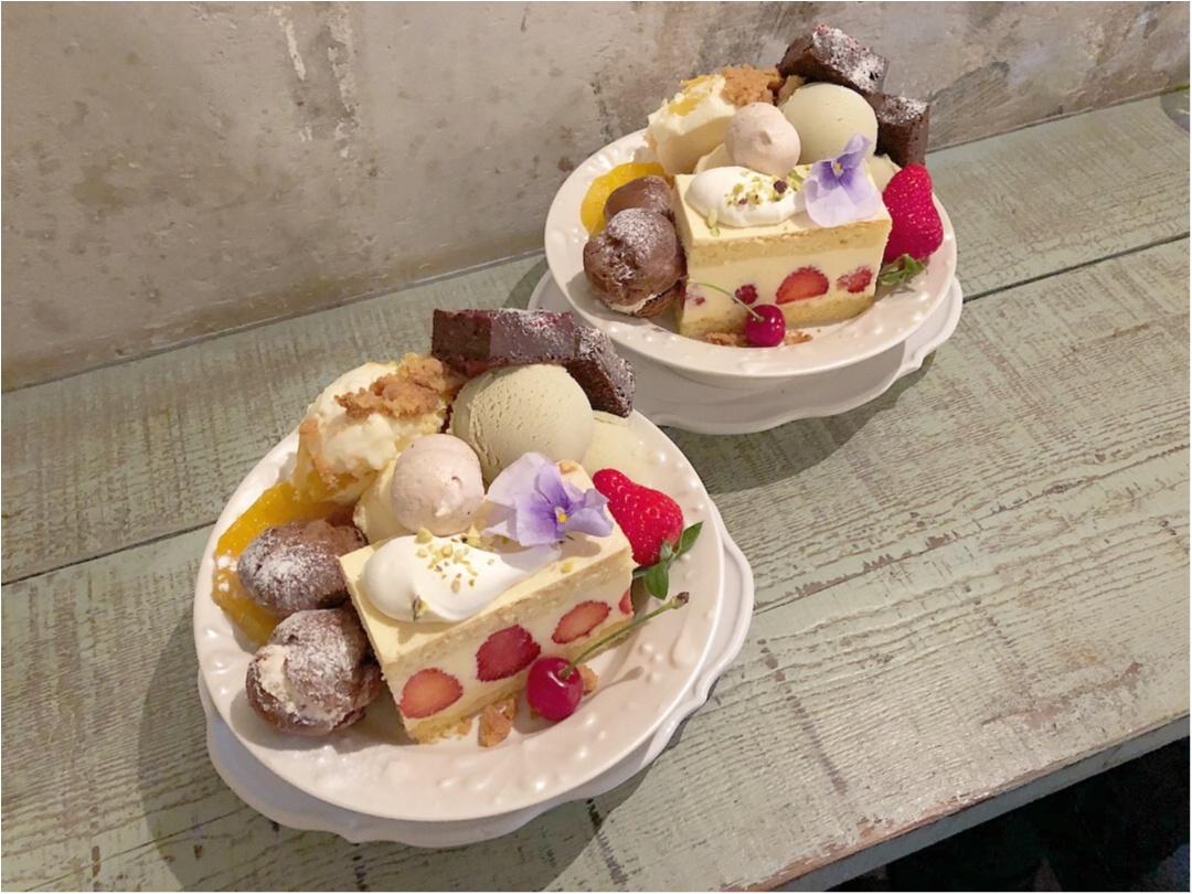 かわいすぎる♡ 人気カフェkipfel・さんの『3周年のアニバーサリーパフェ』でお祝いしてきました♡♡_4