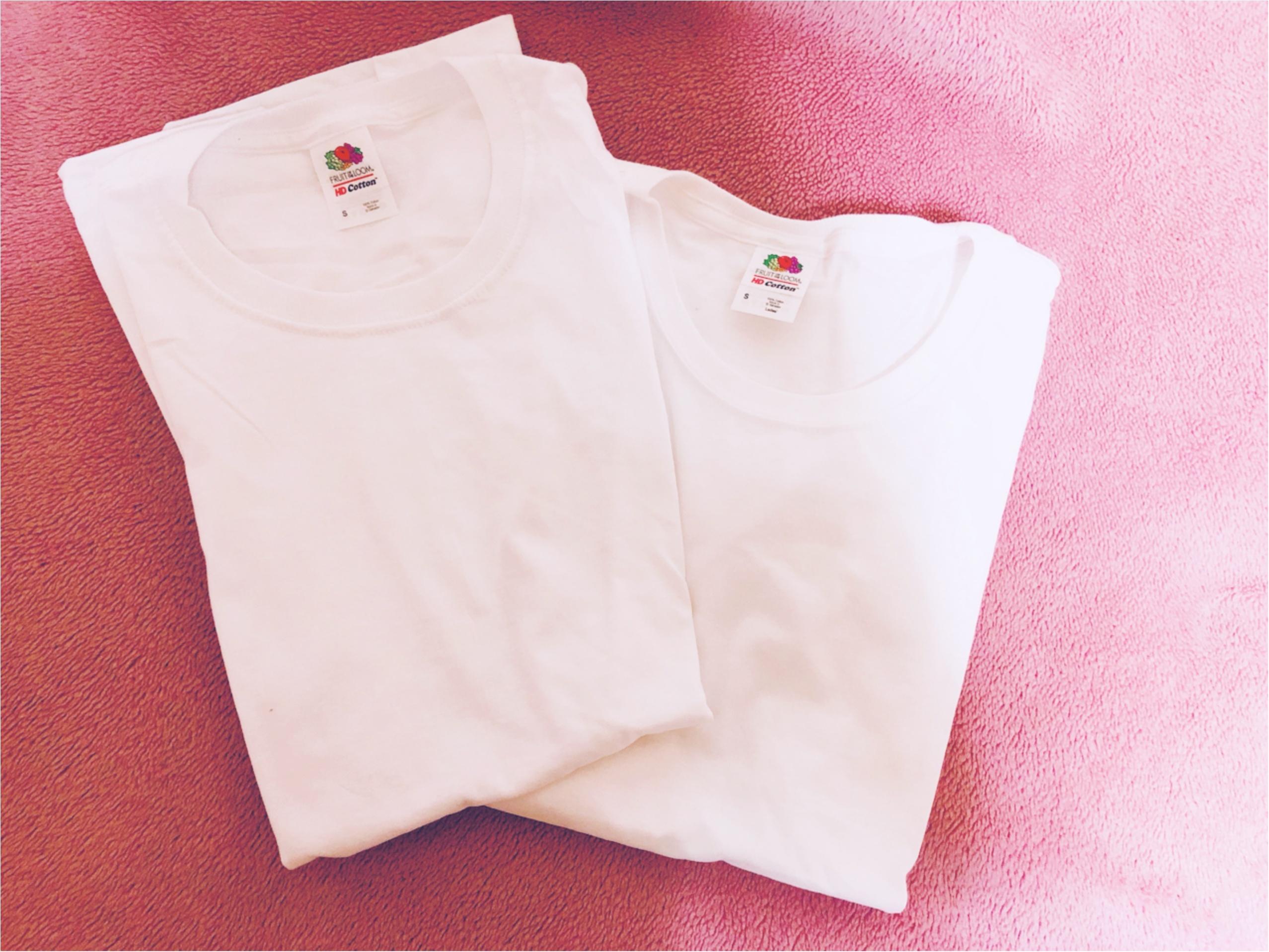 夏はガシガシ!fruit of the loomのTシャツを着よう!_3
