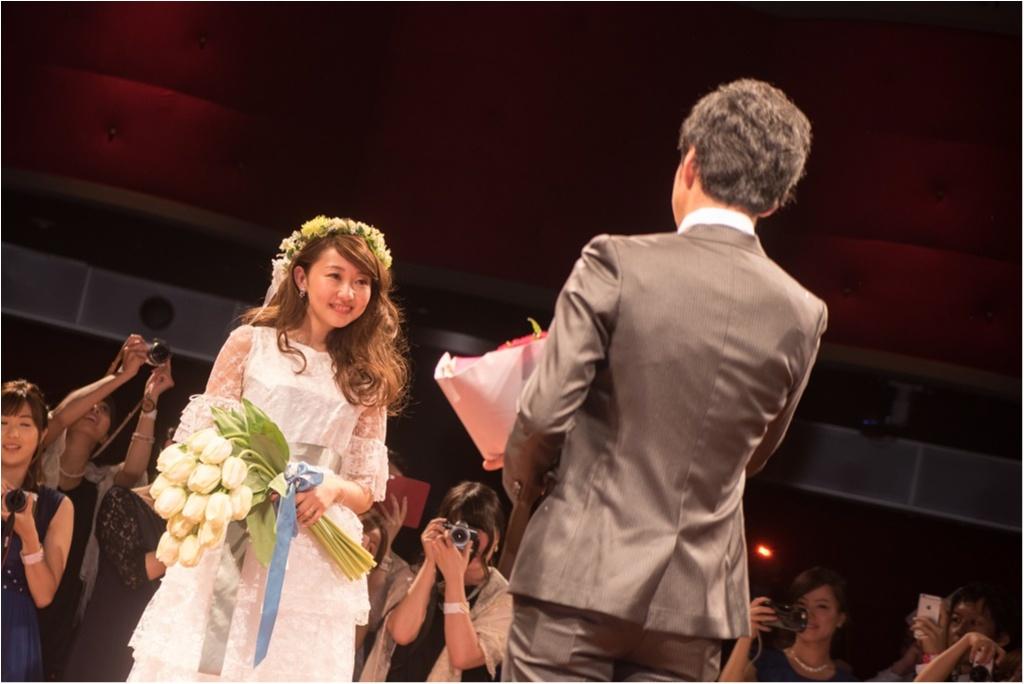―後半―【総勢281名!モアハピ部も参加してくれました】花道のある会場でみんなと共に思い出に残るステージに#さち婚_4