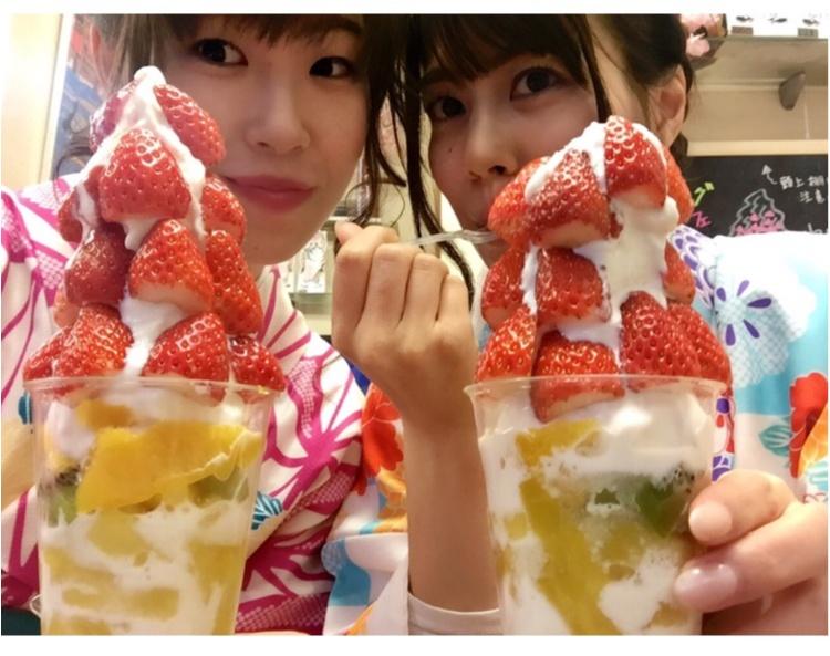 【FOOD】 まだまだ苺に夢中です♡買わずにはいられない!盛りパフェ苺があるのはココッ♡!_4