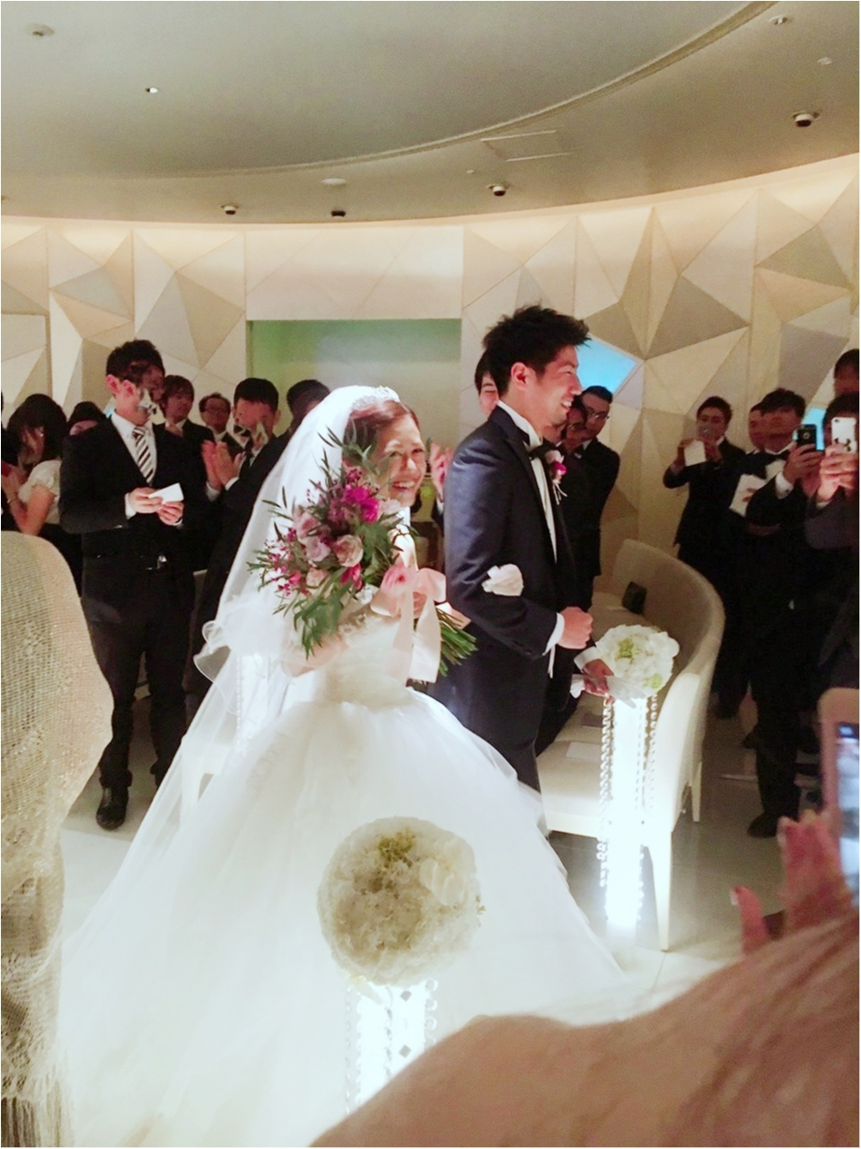 【justmarried】大好きな方々に囲まれ、卒花しました!!_1