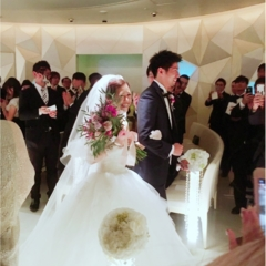 【justmarried】大好きな方々に囲まれ、卒花しました!!