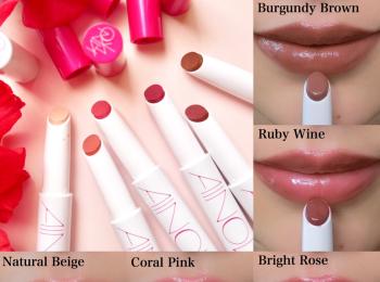 気になるブランド『AINOKI』の新メイクアイテムを、美容家立花ゆうりがお試し♡ おすすめは唇温度でとろけるリップスティック!