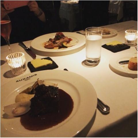 【AUXAMIS TOKYO】東京駅丸ビル35階絶景のフレンチレストランで誕生日ディナー♡_8