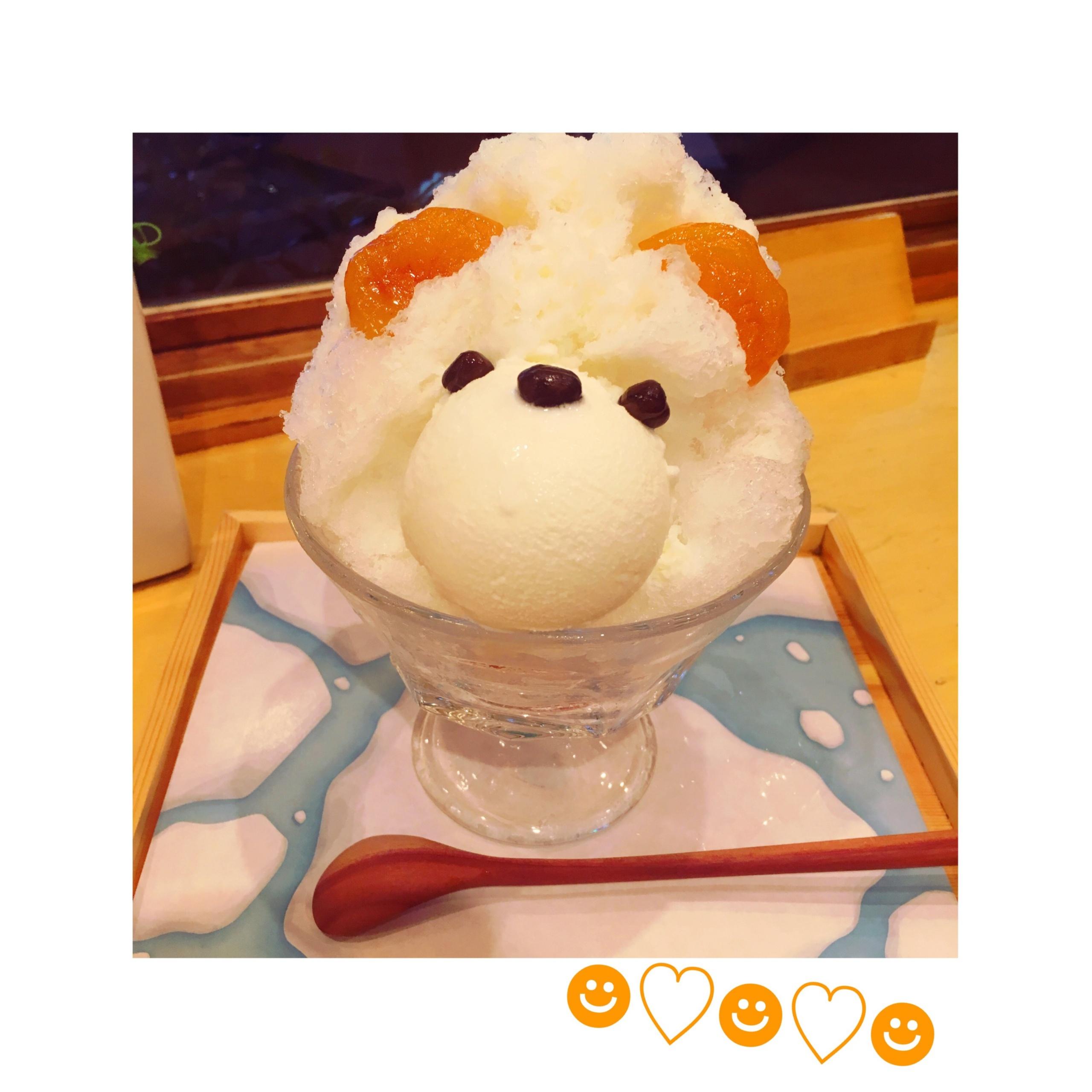 【恵比寿】夏が終わる前に絶対食べたい♡!可愛すぎて食べられない⁈〝くまさんかき氷〟❤️_2