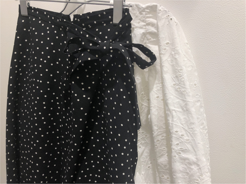 春になると着たくなる《ドットスカート》は【GU】で!見た目も値段も超かわいい〜♡_1