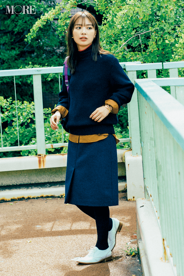 2018年秋のファッション ニット34