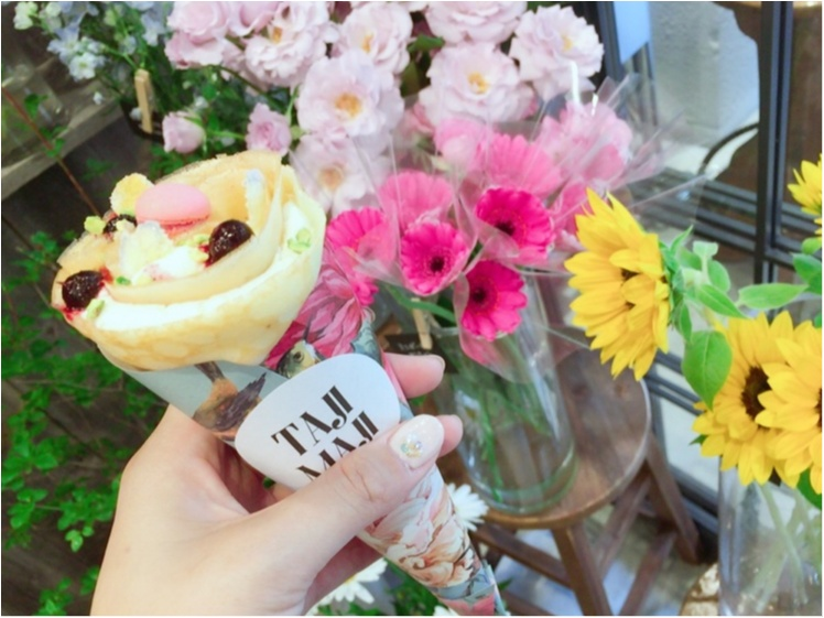 【カフェ巡り】まるで花束のような女の子らしい可愛いスイーツ♡_4