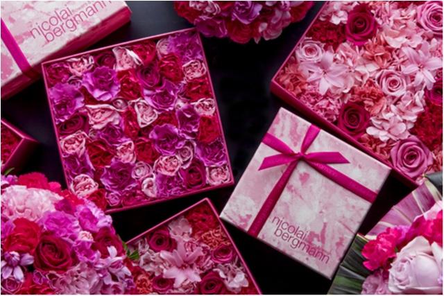 ピンクにときめいちゃう♡ ホワイトデーのおねだりギフトは『ニコライ バーグマン』の限定フラワーボックスがいい!_1