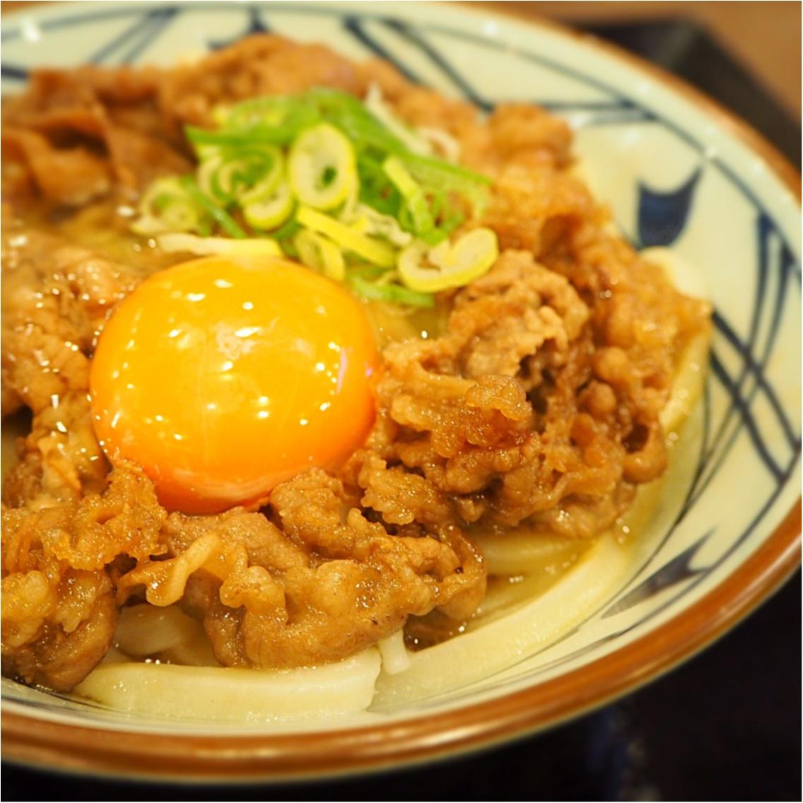 【丸亀製麺】秋の新商品はなーんだ♡_6