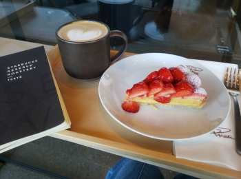 【STARBUCK RESERVE ROASTERY TOKYO】は、カフェテーマパーク☆第2段