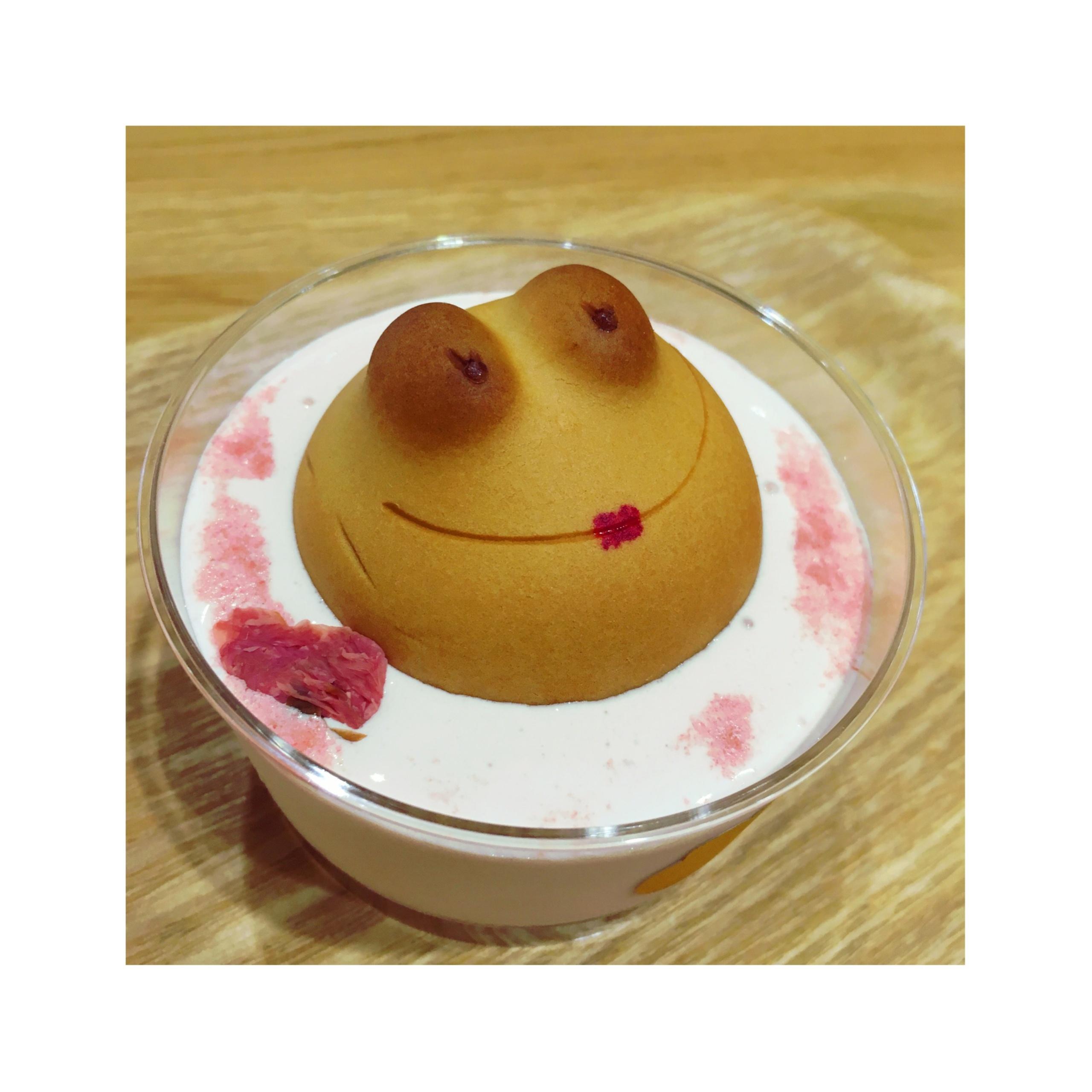 《ご当地MORE★愛知》季節限定!名古屋駅KITTEで食べられる【カエルのさくら風呂】が可愛すぎるっ❤️_4