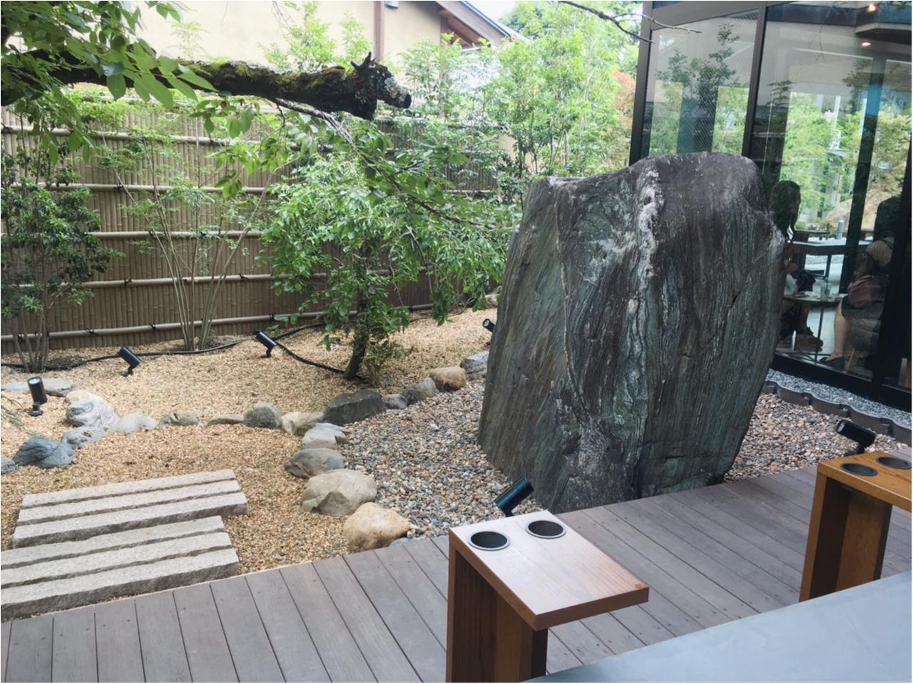 本当は教えたくない♡京都なのに空いてて、日本庭園で飲める!穴場の【スタバ】があるんです(*°○°*)_8
