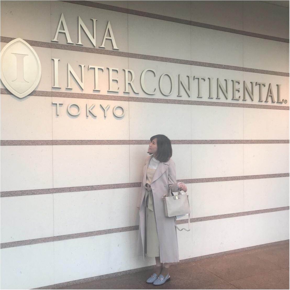 ANAインターコンチネンタルホテルでアフタヌーンティー女子会!大大大好きなあのモアハピ部OGさんにも会えました❤︎_1