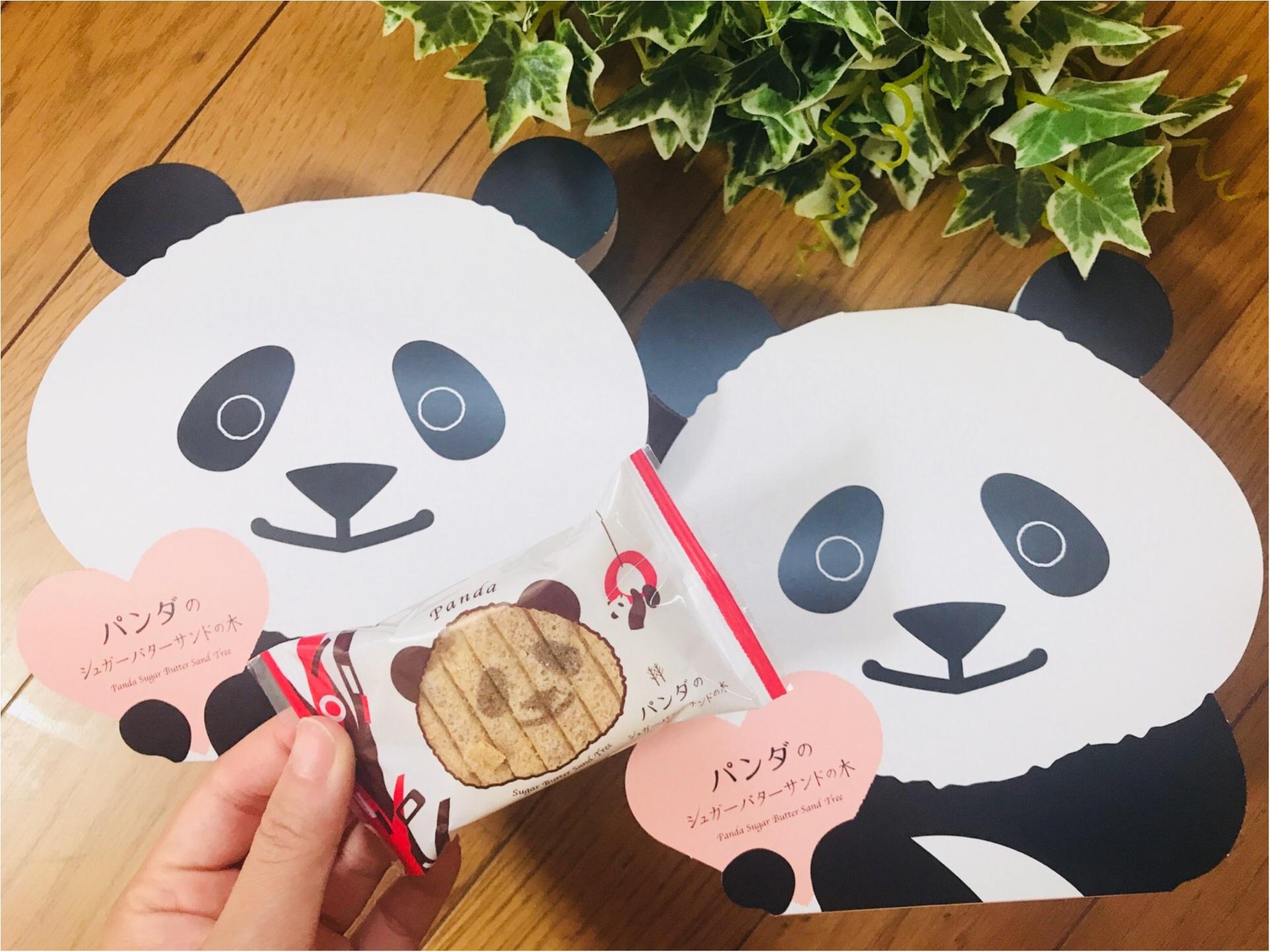 """【帰省土産】はコレで決まり!""""パンダ""""モチーフの《シュガーバターサンドの木》♡_1"""