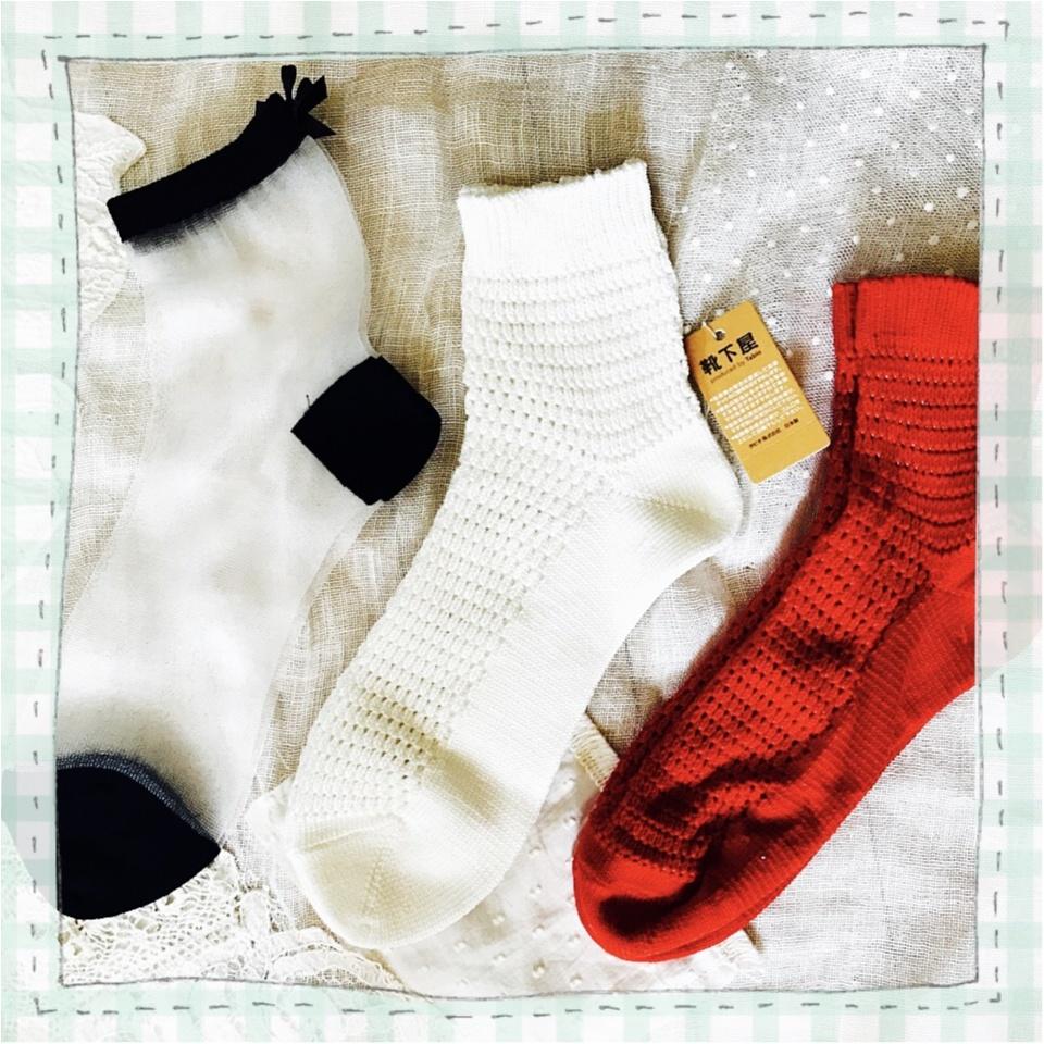 …ஐ 〈靴下屋〉オシャレさんは足もとまでぬかりなく!私が選んだ靴下3選 ❤️ ஐ¨_1