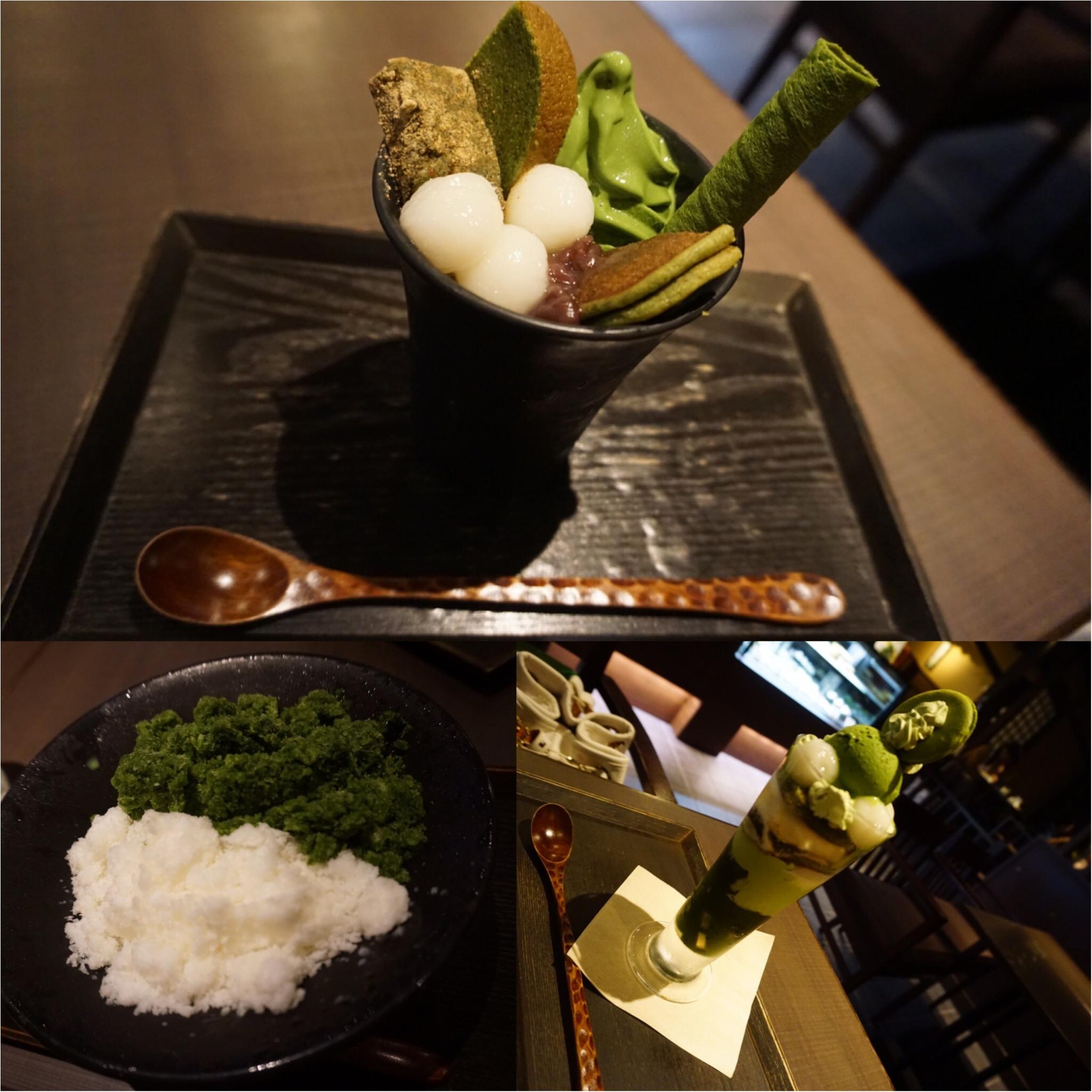 ☺︎♡京都〜抹茶巡りの旅〜わらび餅&パフェ&茶蕎麦_4