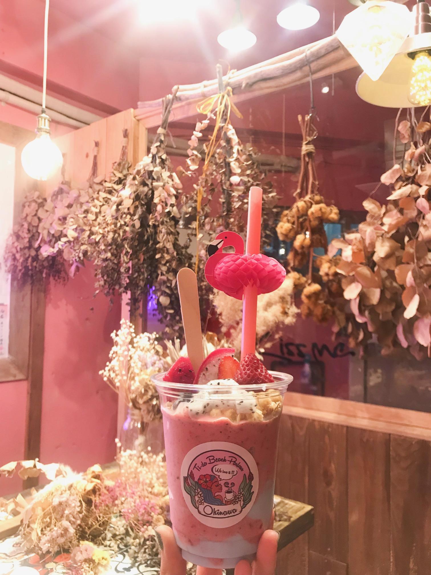 【沖縄女子旅】国際通りのかわいいカフェ♡ おしゃれスムージーと絶品サンドイッチのお店、教えます!_4