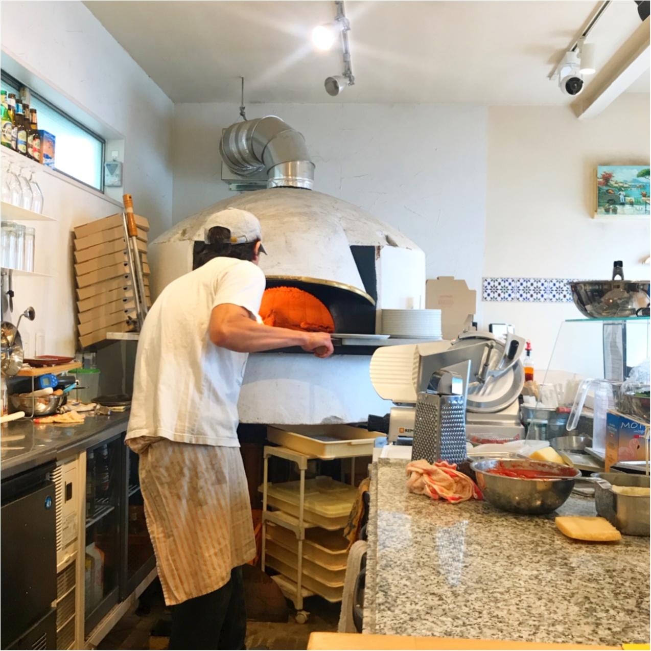 """【北千住グルメ】路地裏の隠れ家ピッツェリア!""""Pizzeria Alloro""""の窯焼きピザが絶品♡_2"""