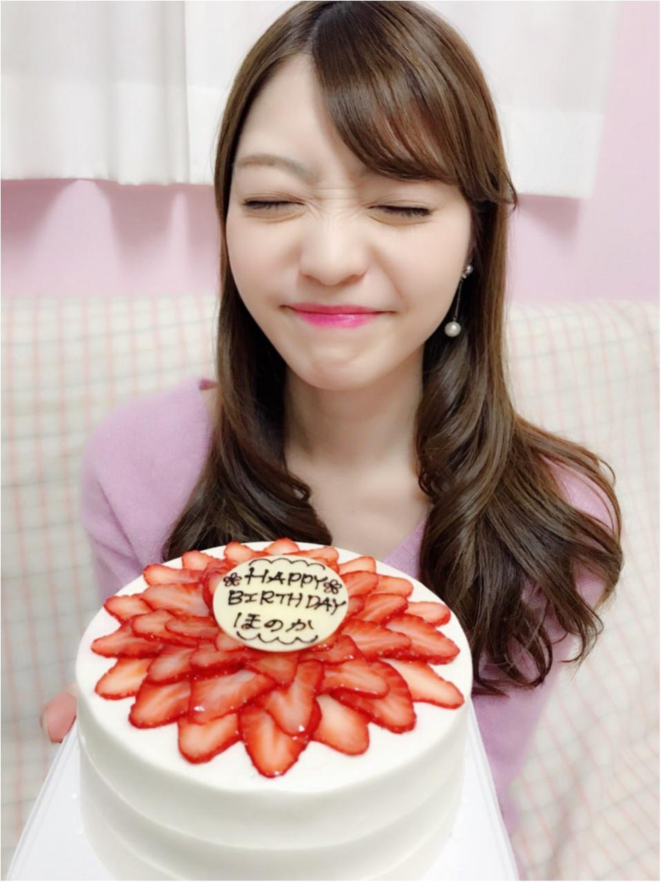 【BirthDayGirl♡】可愛いケーキと先取りお祝いしていただきました!!_4