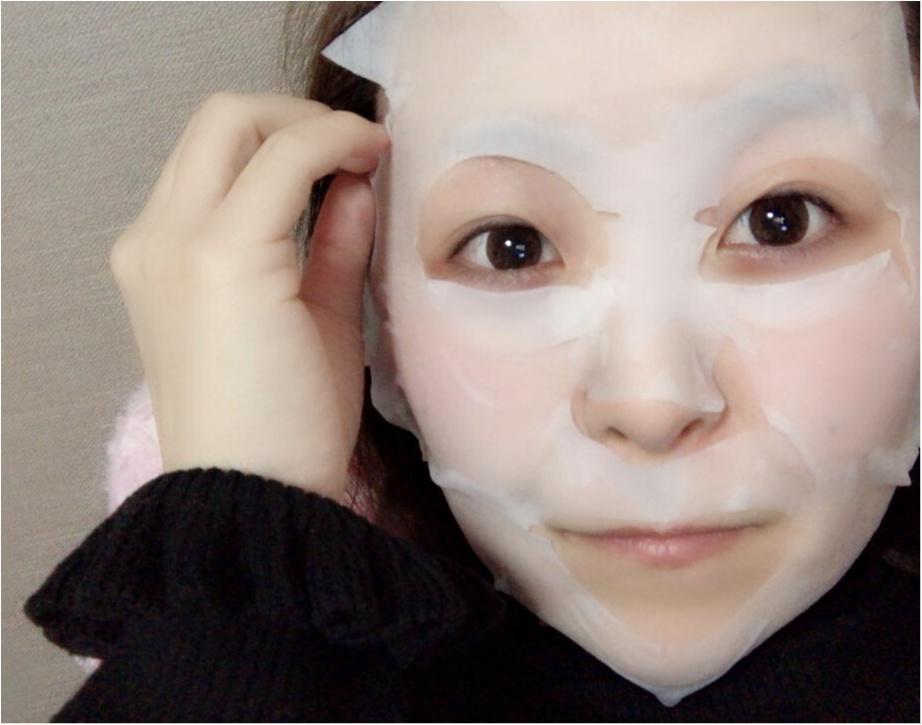 コスパ抜群!100均の《フェイスマスク》が優秀すぎる❤︎100円でこのクオリティーはすごい。手軽にケアしちゃいましょ♡♡_4