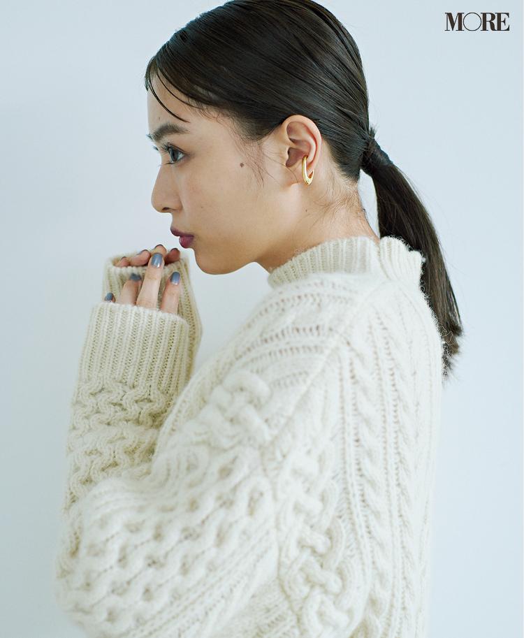 「白い服で細見え」ってこんなに簡単なの!? ヘアアレンジやサイズ選びで劇的スッキリ♡ PhotoGallery_1_4
