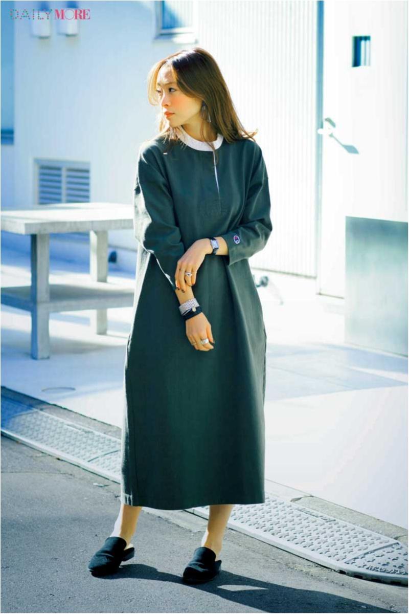 """お洒落な人も""""女っぽい""""が気分♪ ファッションディレクター野尻美穂さんの春私服は、「カジュアル派だからこそ女性らしさを足します」_1_3"""