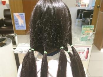 誰かのために役立つ&自分のイメチェンも叶う☆ 超ロングヘアをばっさり40cmヘアドネーションカット!