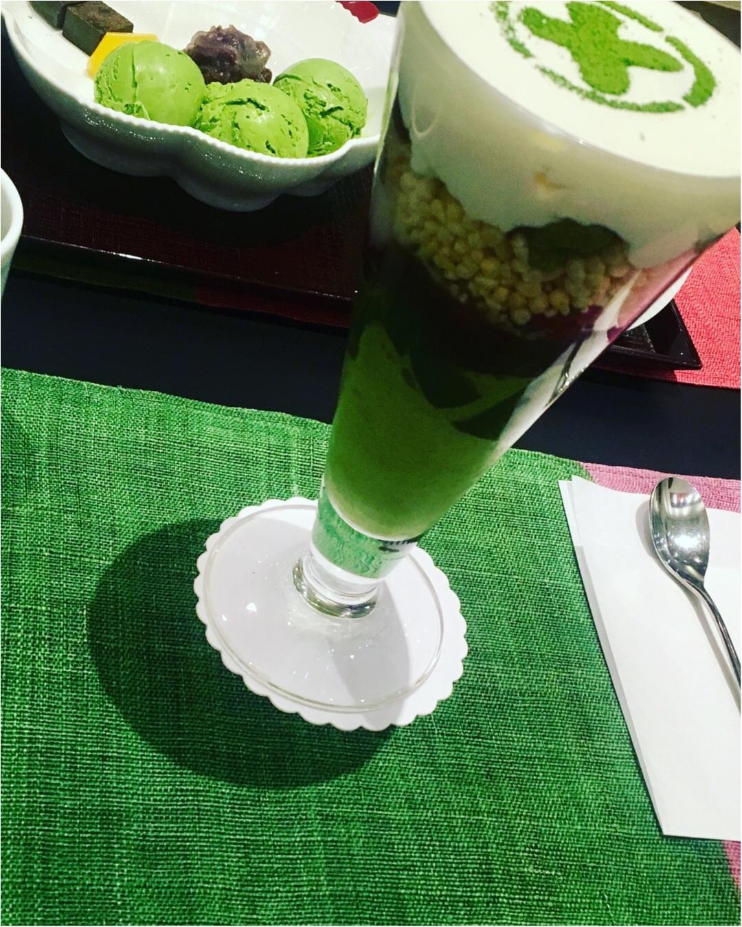 京都に行ったら食べたい2大パフェ。やっぱり抹茶パフェは外せない〜_5