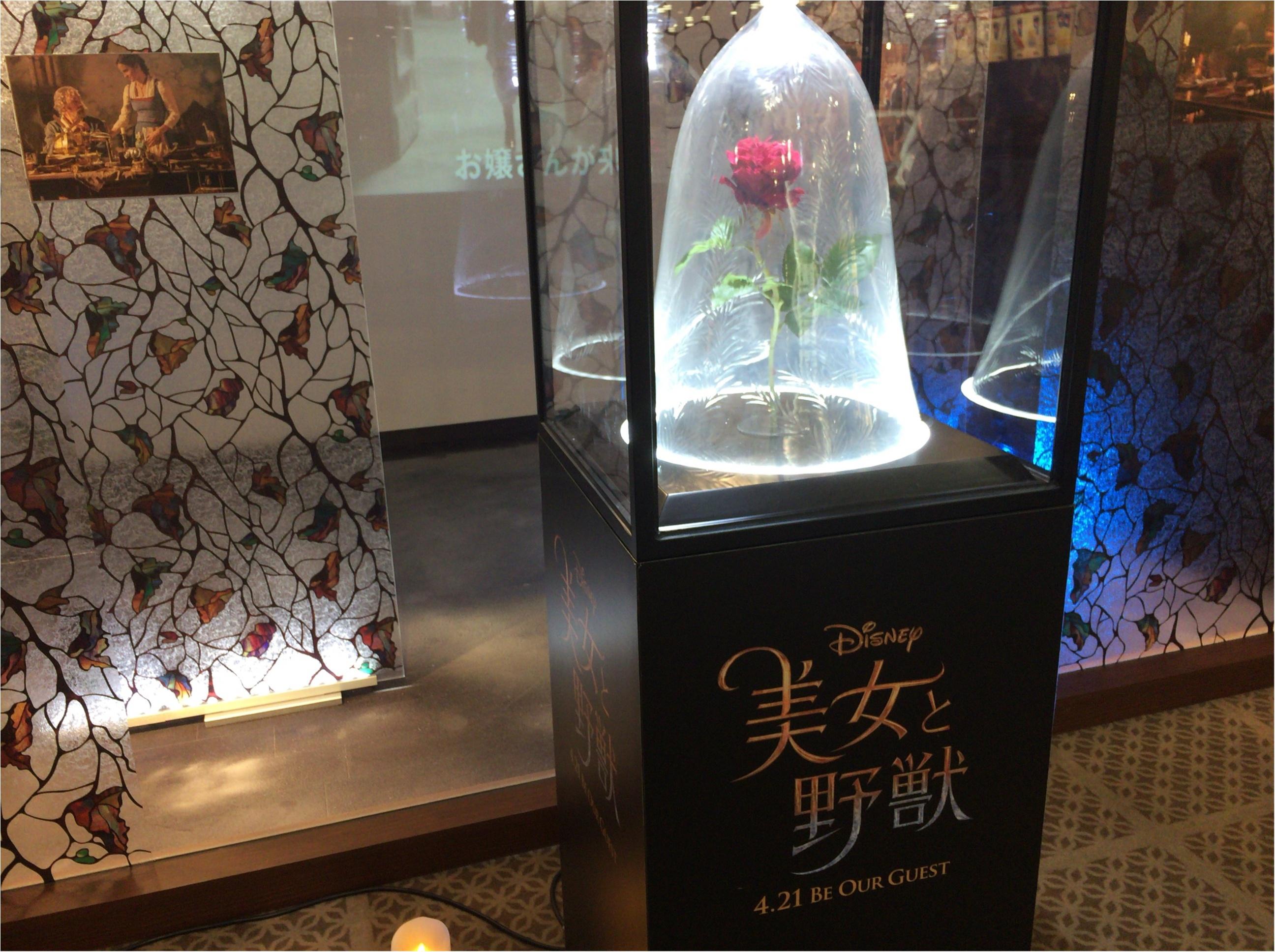 《ムビチケ》『美女と野獣』実写版をバラが美しい便利な前売り券で観賞♡♡♡_1