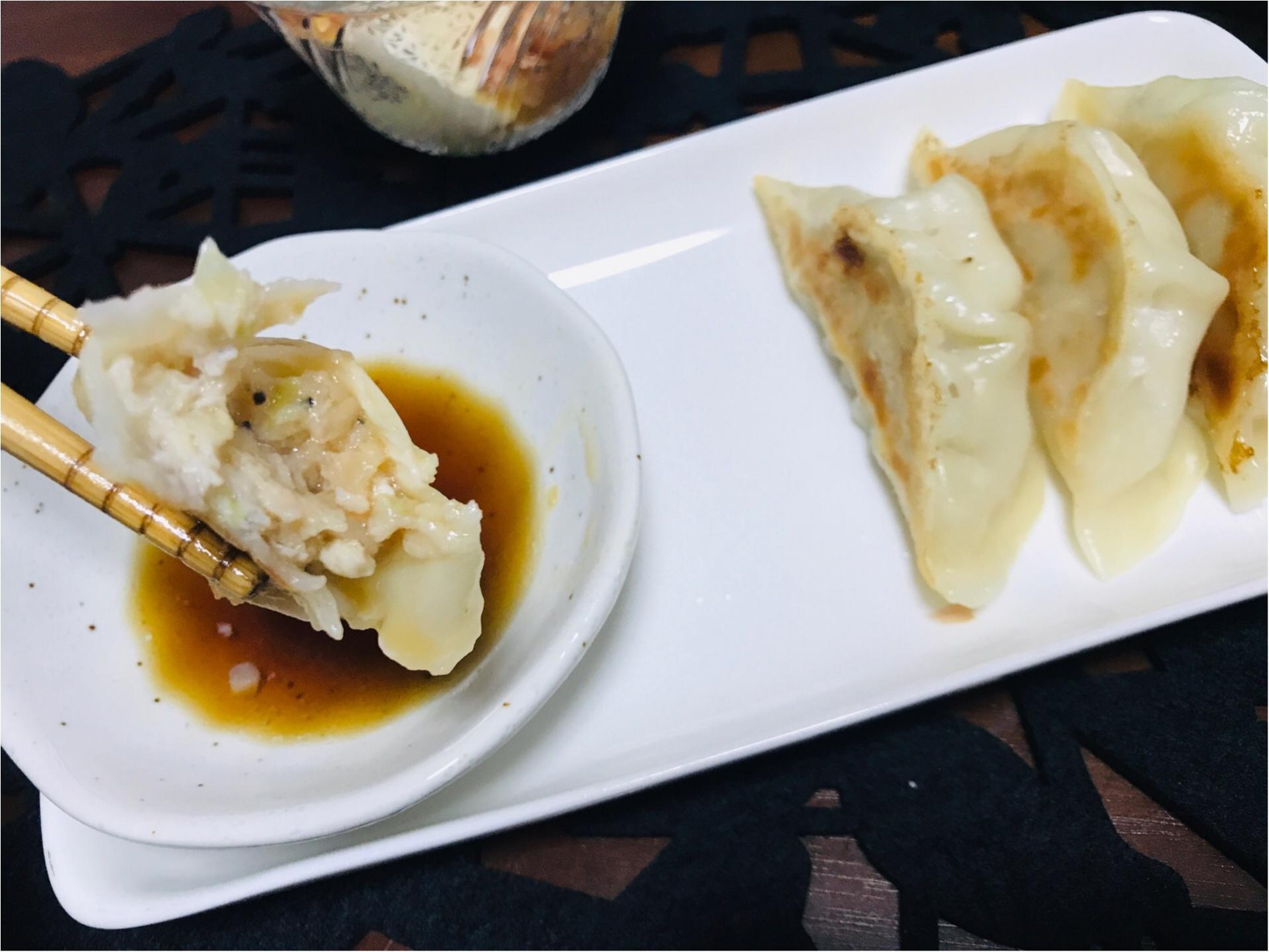 大人気料理ブロガー《みきママ》考案!肉汁がすごい【鶏ナンコツ塩餃子】を試食♡_5