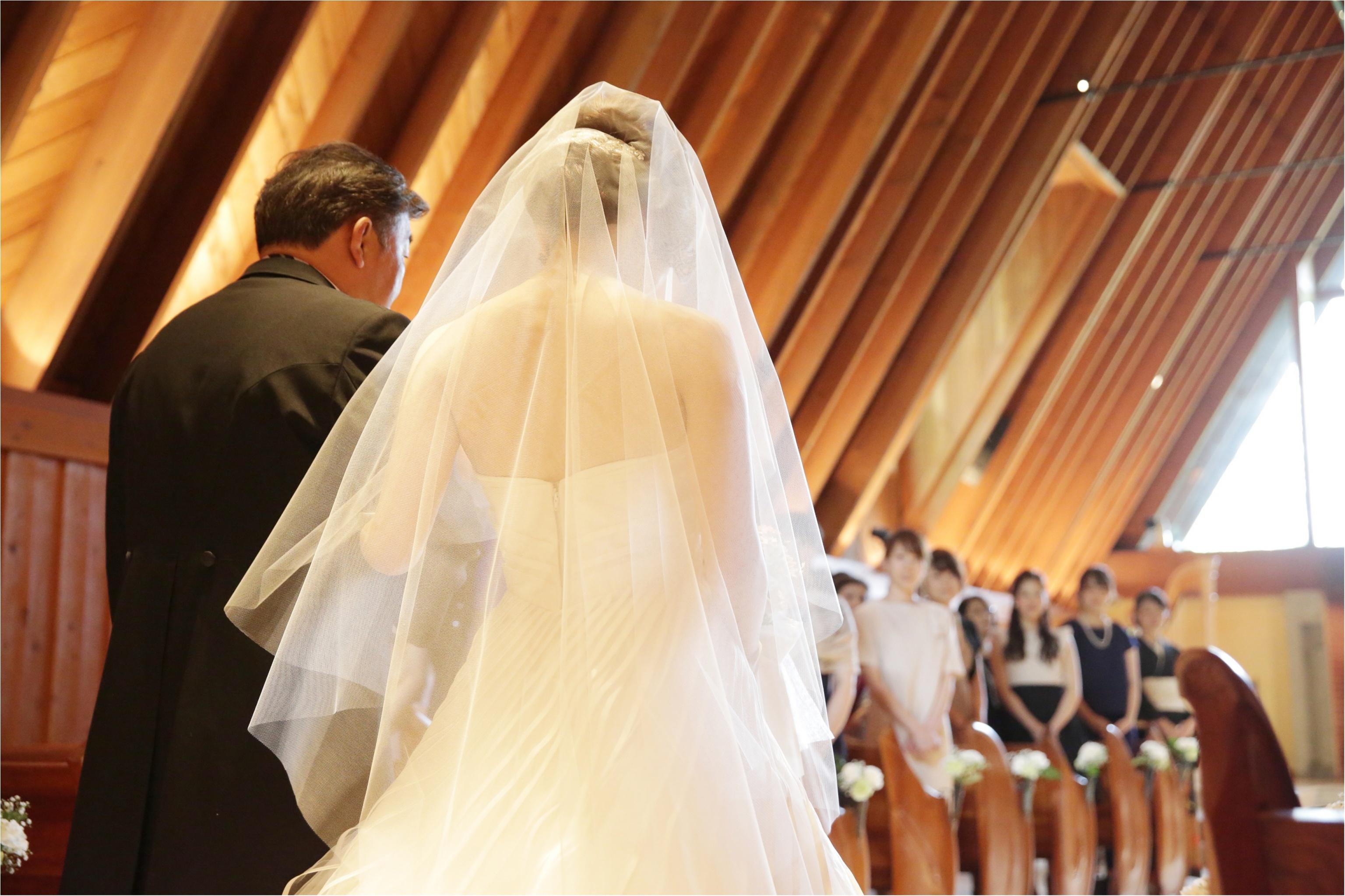 父と歩くバージンロード(軽井沢Weddingレポ②)_3