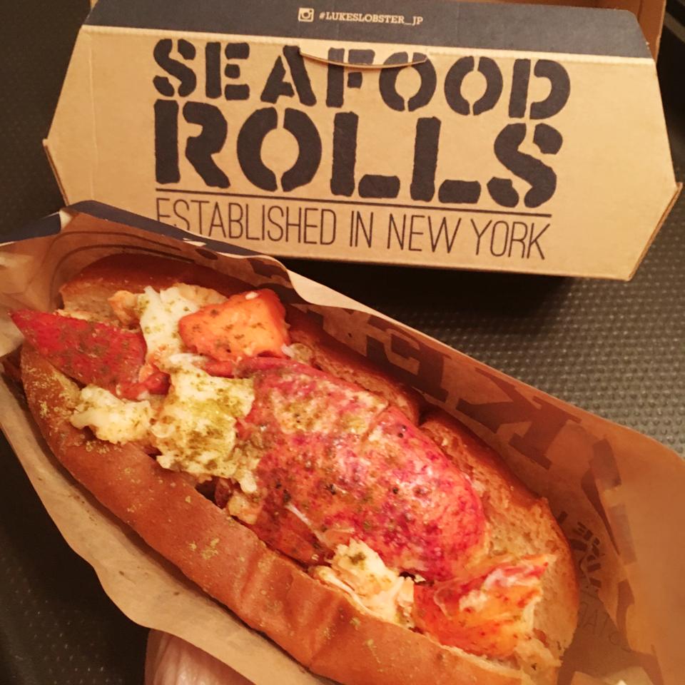 【NYのNO.1 ロブスターロール専門店】やっぱりルークスのロブスターロールは美味しい!!_2